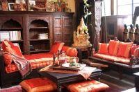 Mobilier si amenajari interioare in stil indian