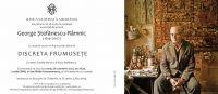 Prezentarea albumului DISCRETA FRUMUSETE si vernisarea expozitiei George Stefanescu-Ramnic (1914–2007)