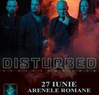 Concert Disturbed la Arenele Romane din Bucuresti