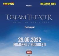 Concert Dream Theater la Bucuresti in 2022