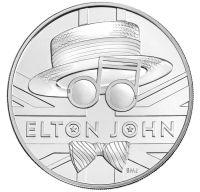 Elton John va avea propria moneda comemorativa