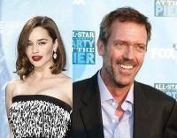 Emilia Clarke si Hugh Laurie vor colabora la un nou proiect