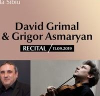 Recital David Grimal si G Asmaryan la Sala Thalia din Sibiu