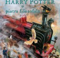 Harry Potter si piatra filosofala (ed. ilustrata) de J.K. Rowling