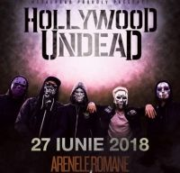 Hollywood Undead in concert la Arenele Romane din Bucuresti
