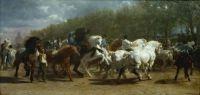 Targul de cai de Rosa Bonheur