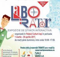 Expozitie de stiinta pentru copii - Laborator -  la Palatul Culturii din Iasi