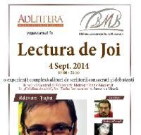 """A patra """"Lectura de Joi"""" in Gradina de citit"""