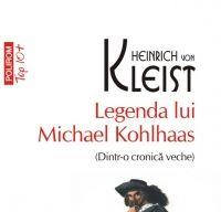 Legenda lui Michael Kohlhaas de Heinrich von Kleist
