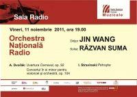 Dvorak si Stravinski la Sala Radio sub bagheta dirijorului Jon Wang