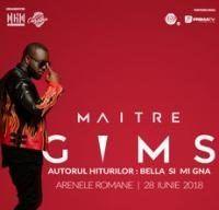 Concert Maitre Gims la Arenele Romane din Bucuresti
