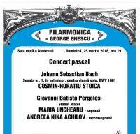 Concert Pascal la Ateneul Roman