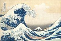 """Celebra stampa """"Marele val de la Kanagawa"""" de Hokusai s-a vandut pentru 1,6 milioane de dolari"""