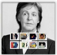 Posta Regala britanica va lansa o serie de timbre cu Sir Paul McCartney