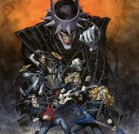 DC Comics lanseaza o serie de benzi desenate cu trupe ca Megadeth, Sepultura sau Ghost