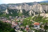 Melnik, cel mai mic oras din Bulgaria