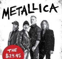 O noua carte despre trupa Metallica va fi lansata in curand