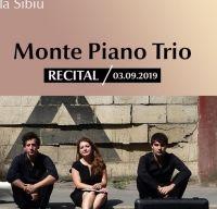Recital Monte Piano Trio la Sala Thalia din Sibiu
