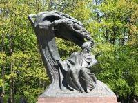 Monumentul Chopin din Varsovia