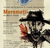 Morometii - Teatrul din manual, lecturi in liceele din Bucuresti