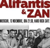Concert Nicu Alifantis & Zan la Hard Rock Cafe