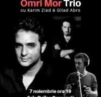 Omri Mor Trio la Jazz Fan Rising