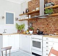Efectul peretelui de caramida in amenajarile interioare