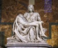 Pieta, singura lucrare semnata de Michelangelo