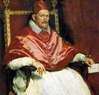 Portretul Papei Inocentiu al X-lea de Diego Velazquez