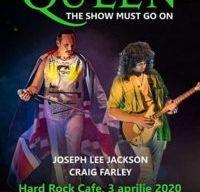 Concert tribut Queen la Hard Rock Cafe