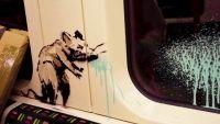 Banksy s-a intors. De aceasta data in metroul londonez