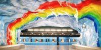 Metroul din Stockholm sau cea mai lunga galerie de arta din lume