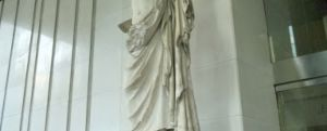 O statuie romana in Tokyo
