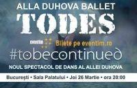 Spectacol Todes Ballet la Sala Palatului