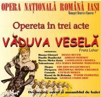 Vaduva vesela de Franz Lehar, la Operele din Bucuresti si din Iasi